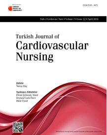Turkish Journal of Cardiovascular Nursing