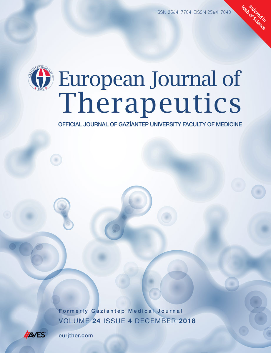 European Journal of Therapeutics
