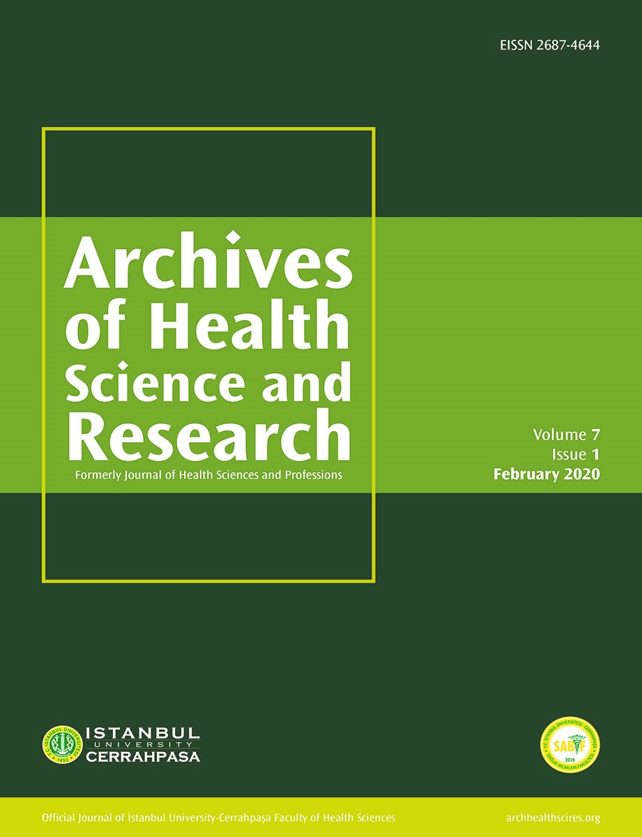 Journal of Health Sciences and Professions