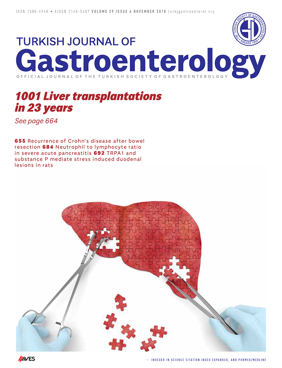 Turkish Journal of Gastroenterology